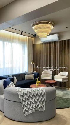 Living Room Partition Design, Room Partition Designs, Home Design Living Room, Room Design Bedroom, Bedroom Furniture Design, Luxury Homes Interior, Home Interior Design, Apartment Interior, House Rooms
