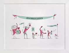 Zoo on Parade by Kayla King at minted.com