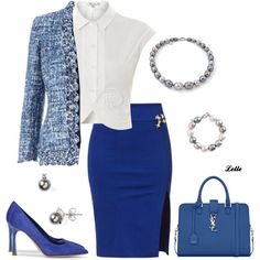 """Working 9 to 5"" by lellelelle on Polyvore"