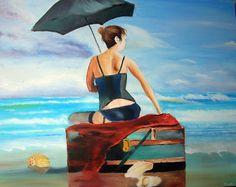 Pearl 40x50cm oil painting Markoart