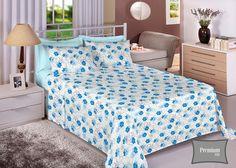 Jogo de lençol Queen 4 peças Quanto maior a densidade de fios no tecido mais suavidade e durabilidade ele oferece. Experimente o incrível conforto do Percal Premium 200.