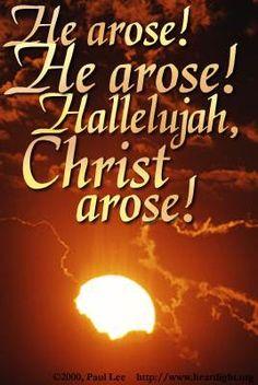Resurrection Day!!!!