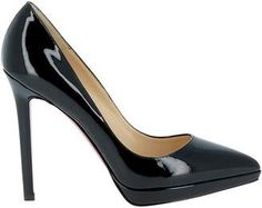 Best price on the market: Christian Louboutin Christian Louboutin Black Patent Leather Pumps Black Patent Leather Pumps, Black Leather, Pink Heels, Stiletto Heels, Christian Louboutin Women, Shoes, Travel Tips, Fashion, Black Patent Leather