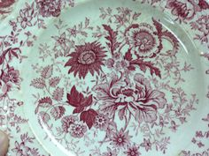 Vintage 1960's Taylor Smith Taylor USA French Style Transfer Ware  http://TheIDconnection.etsy.com  $10.00 ... Selling my collection of Estate Sale treasure http://rolanddressler.blogspot.com