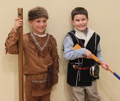 Wax Museum: Lewis and Clark costumes