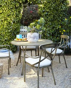 Bordeaux Outdoor Bistro Dining Furniture at Horchow.