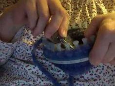 Loom Knit Large Gauge Sock video 2