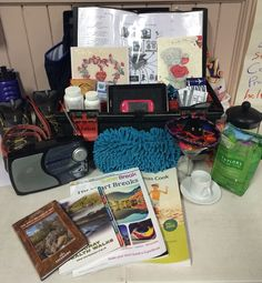 Some facilitators develop their own wellness toolbox as an actual box with their must common wellness tools, or if that is not possible symbolic objects and photographs.