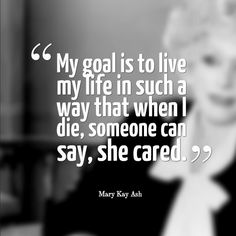 Pretty good #goal don't you think? #quote #leadership