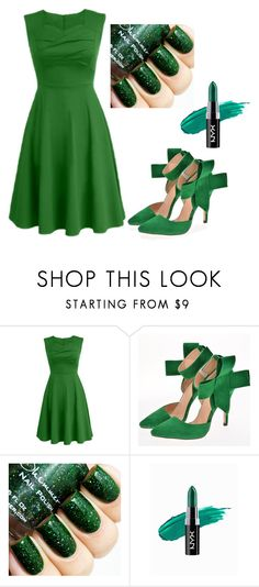 """""""One short day..."""" by perfectly-pretty ❤ liked on Polyvore featuring beauty and NYX"""