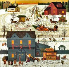 A  Warm Christmas Love by Charles Wysocki