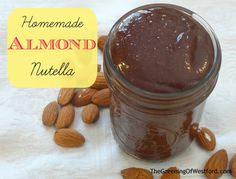 Homemade Nutella with Almonds - The Greening of Westford