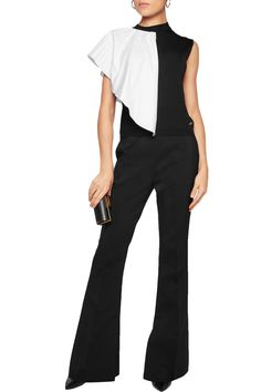Shop on-sale Vionnet Pleated poplin and knitted top. Browse other discount designer Tops & more on The Most Fashionable Fashion Outlet, THE OUTNET.COM