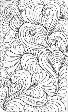 LuAnn Kessi - amazing free motion quilting designs