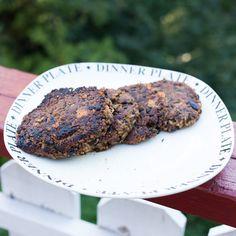 Marias Matglede ♥: Digg bønneburger med sorte bønner
