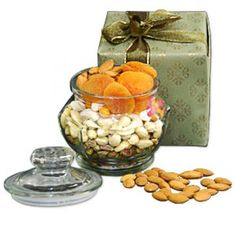 Dry Fruits in a Jar