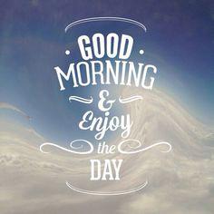Sin darnos cuenta hemos llegado al jueves, y hoy vamos a disfrutar del día! Buenos días :)