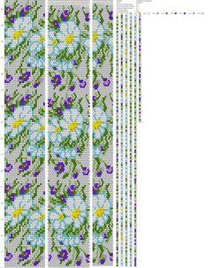 Crochet Bracelet Pattern, Crochet Beaded Bracelets, Bead Crochet Patterns, Beading Patterns Free, Bead Crochet Rope, Beaded Jewelry Patterns, Peyote Patterns, Beading Tutorials, Beaded Crochet
