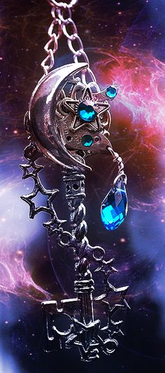 Galaxy Key by *KeypersCove on deviantART