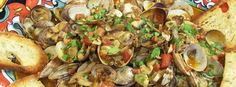 Nick Stellino - Clams With Mushrooms And Bacon
