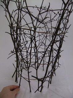 Build an armature of sticks