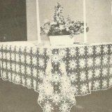 Easy Tablecloths free crochet patterns