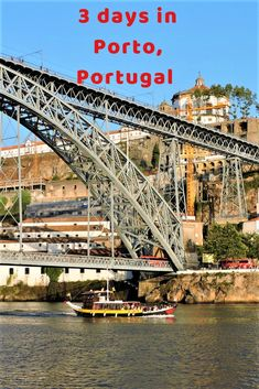 Porto in Portugal is famous for an old city charm, hills and Port wine. There are many things to do in Porto to keep you busy for 3 days. Here are some of the must do things in Porto, both popular and lesser known. Europe Travel Guide, Travel Guides, Travel Destinations, Portugal Travel, Spain And Portugal, Best Countries To Visit, By Train, Best Places To Travel, Travel Around The World