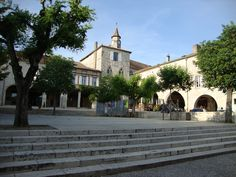 The market place at Monflanquin