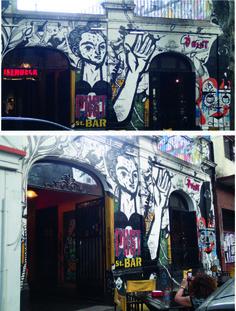 POST BAR, el bar de graffitimundo grffitimundo´s bar: POST BAR