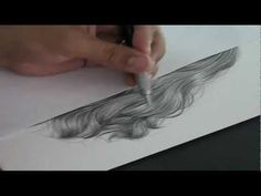 TUTORIAL: Drawing Hiperrealistic Hair in PENCIL- i hate having to draw hair, this is incredible