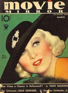 Mae West - Movie Mirror.