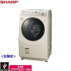 シャープ 9.0kg ドラム式洗濯乾燥機 【左開き】 ゴールド系SHARP ES-V540-NL シャープ http://www.amazon.co.jp/dp/B00F5J2XGK/ref=cm_sw_r_pi_dp_IKJ8ub14CCB35