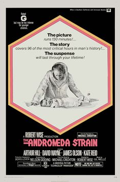 This is a slow burn but an Amazing film! ~ Blue ~ The Andromeda Strain (1971).