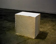Scott Bowering, The Shape of Oblivion, 2007. (65 pounds pulverized Tylenol 3s - approximately 16 pounds codeine)