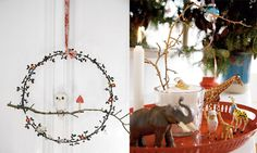 Beautiful Christmas decorations from the home of Rie-Elise-Larsen