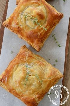 Puff Pastry Ham, Cheese & Broccoli Hand Pies Here are The 11 Best Hand Pie Recipes we could find perfect for making ASAP.