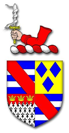 Cheshire Heraldry - The Armorial Bearings of the Cheshire Visitations - 1613