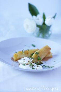 karamellisoitua-ananasta-suolaajahunajaa