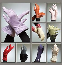 Glove Patterns: I want to make some fingerless wedding gloves but I cannot find a pattern any where online.    Hi Danni,  I have sent you a picture of a current Vogue