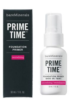 BareMinerals Prime Time Neutralizing Foundation Primer via @stylelist | http://aol.it/1pqqQkY