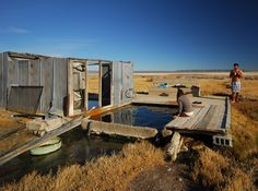 Simply put, few places anywhere provide a setting that is as relaxing as Alvord Hot Springs.Located at the eastern base of Steens Mountain and on the western edge of the Alvord Desert, the hot soaking pools, rustic structure, and wooden deck invite all visitors to rest and enjoy the expansive views
