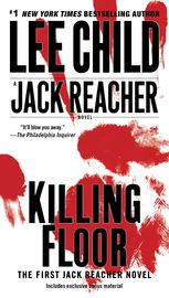 Killing Floor | http://paperloveanddreams.com/book/357916934/killing-floor | INTRODUCING REACHER: The First Jack Reacher Novel  NEW INTRODUCTION BY THE AUTHOR  Ex-military policeman Jack Reacher is a drifter. He�s just passing through Margrave, Georgia, and in less than an hour, he�s arrested for murder. Not much of a welcome. All Reacher knows is that he didn�t kill anybody. At least not here. Not lately. But he doesn�t stand a chance of convincing anyone. Not in Margrave, Georgia. Not a…