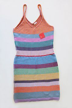 striped dress by Annie Larson of ALL knitwear.