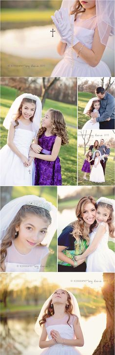 First communion photos  :) #kidography