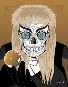 """Goblin King - Jareth"" played by David Bowie Print Inspired by the movie Labyrinth"