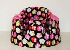 GumboBaby-Bentonville-bumbo covers with really cute fabric, some burp cloths