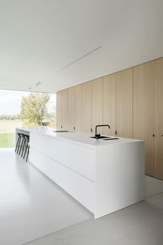 Francisca Hautekeete - Architect Gent - Projects - M . Francisca Hautekeete – Architect Gent – Projects – M Francisca Hautekeete – Architect Gent – Projects – M You might have Farmhouse Style Kitchen, Modern Farmhouse Kitchens, Black Kitchens, Home Decor Kitchen, Home Kitchens, Kitchen Ideas, Kitchen Walls, Farmhouse Sinks, Kitchen Fixtures