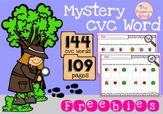 Free Mystery CVC Word contains 144 of mystery CVC Words with 109 pages. It will help children to read, build, and write CVC Words by using beginning sound letters. Also, children will learn to make and write CVC sentences. You can use as a class time worksheet, morning work, and homework. Preschool | Kindergarten | Kindergarten Worksheets | First Grade | First Grade Worksheets | CVC | CVC Word Building | Mystery Word | CVC Mystery Word | | Printables| Worksheet | Free Lessons