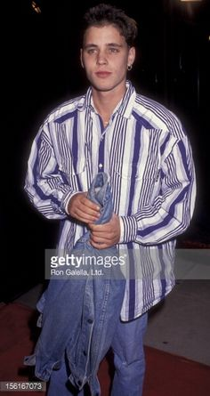 News Photo : Actor Corey Haim attends the premiere of 'My...