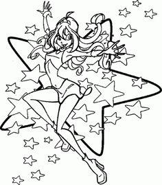 More like winx club mermaid layla coloring page cartoons mermaid coloring pages coloring 5 - Winx coloriage en ligne ...